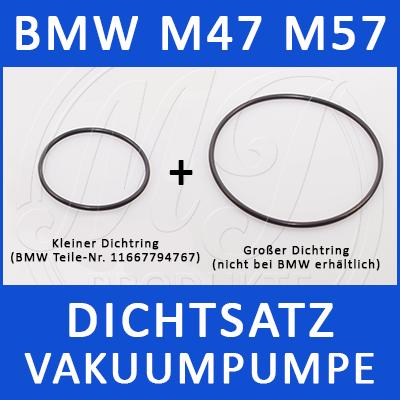 BMW Dichtsatz Vakuumpumpe M47 M57