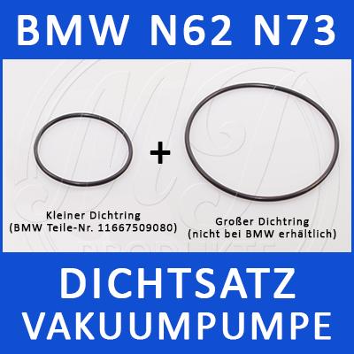 BMW Dichtsatz Vakuumpumpe N62 N73