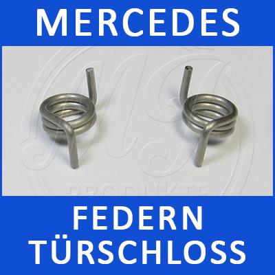 Mercedes Federn Türschloss W203 2