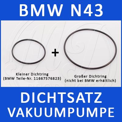 BMW Dichtsatz Vakuumpumpe N43