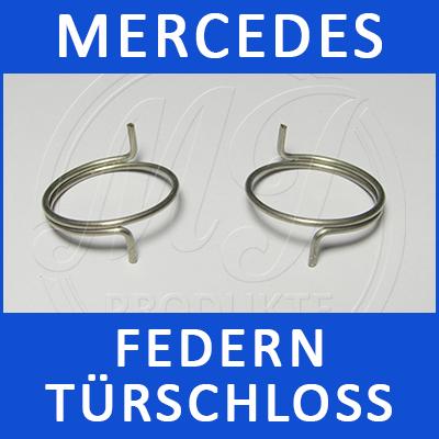 Mercedes Federn Türschloss W163 2