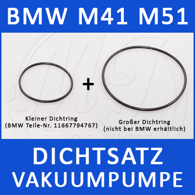 BMW Dichtsatz Vakuumpumpe M41/M51